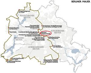 Recorrido muro berlin