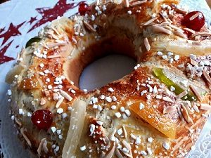 Roscon de Reyes casero