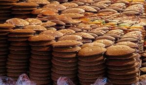 lebkuchen, pan de especias de Nurenberg. Dulce alemán típico navidano